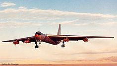 World Air Photo (@planenut27)   Twitter Convair YB-60, flight tests were canceled on 20 Jan. 1953, with 66 flying hours accumulated. One prototype only!