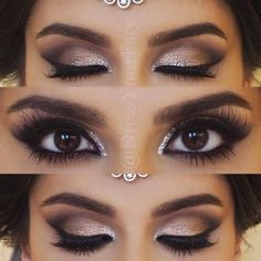 Makeup Artist ^^ | https://pinterest.com/makeupartist4ever/ wedding makeup for brunettes best photos - wedding makeup - cuteweddingideas.com