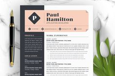 Cover Letter Template, Letter Templates, Resume Design Template, Resume Templates, Text Icons, Great Resumes, Create A Resume, Job Employment, Thank You Letter