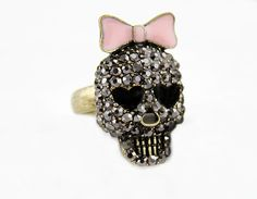 #ring #gifts #skull #punk $7.99 CLICK FOR MORE www.metalangelfashion.com