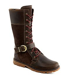 dfd6c797554c Nice boots for a tween teen! Timberland Girls Earthkeepers Asphalt Trail  Bethel Buckle Boots