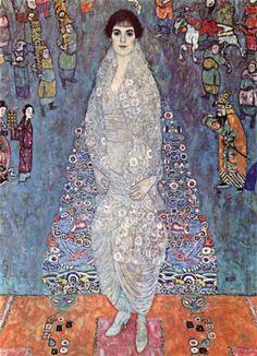 Gustave Klimt - Portrait of Elisabeth Baroness Bachofen-Echt, 1914 © Privately owned