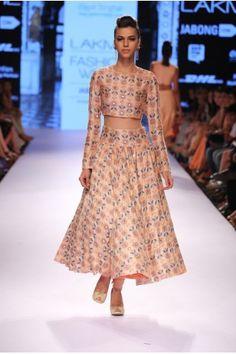 Payal Singhal Indian Wear Collection : INAYAT CHURIDAR SKIRT SET