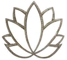 Lotus flower metal wall art   In stock, reduced price Recycled Home Decor, Recycled Art, Flower Wall Decor, Wall Art Decor, Yoga Studio Decor, Spiritual Decor, Yoga At Home, Meditation Space, Yoga Art