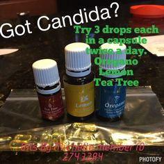 This is how I got rid of my Candida overgrowth and started healing my gut. 3 drops of each in a capsule twice a day. Order young living essential oils at www.youngliving.org/micrich