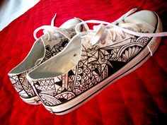 paint shoe by kael cabral, via Behance