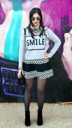 Vacaciones en Plutón: Smile Sweater #kissmylook
