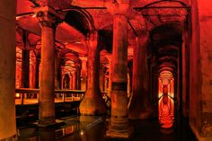 "Basilica Cistern - Basilica Cistern (Istanbul, Turkey)  my facebook page with photos from Rhodes  <a href=""https://www.facebook.com/pages/Rhodes-the-emerald-island-of-the-Mediterranean-Sea/309178252573104"">Rhodes the emerald island of the Mediterranean Sea</a>  Please press H and M  to fully appreciate this photo! Thank you for visiting and commenting My best regards from Rhodes !!! © Copyright: The reproduction, publication, modification, transmission or exploitation of any work contained…"