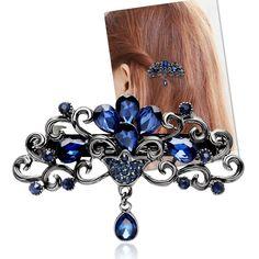 Moda oco cabelo clipe para as mulheres de cabelos luxuruous meninas grampos de cabelo acessórios de moda do vintage acessórios jóias arco em Acessórios Para o cabelo de Das mulheres Roupas & Acessórios no AliExpress.com | Alibaba Group