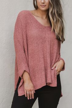 2ed91f4b2b7 Knit sweaters are a must-have to take your fall outfit to the next level
