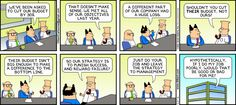 This hit a little too close to home for a certain company I worked for.  The Dilbert Strip for May 27, 2012