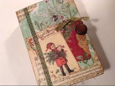 Winter's Christmas Journal - YouTube, this is a video on making a Christmas journal, I know it doesn't go with carols, but I thought that since it is pertaining to Christmas that I would pin it here. Enjoy!