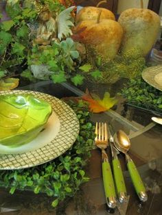 Spring tablescape...