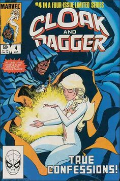 Cloak and Dagger (1983) 4-A by Marvel