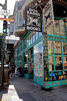 Dog Eared Books in San Francisco. A good old-fashioned bookstore with new, used, and small-press titles. #ata57