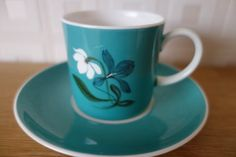 Susie Cooper coffee cup and saucer bone china by Collectaline