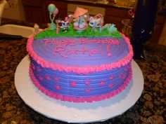 littlest pet shop cake - Google Search