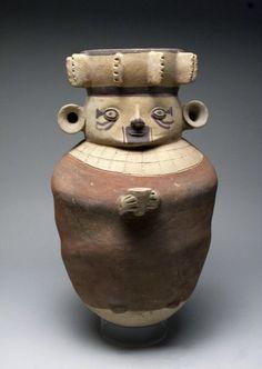 Chancay Polychrome Pottery China, ex-Eugene Lions