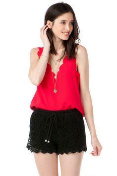 Francesca's | Womens Clothing Stores & Online Boutique Quinn Crochet Shorts