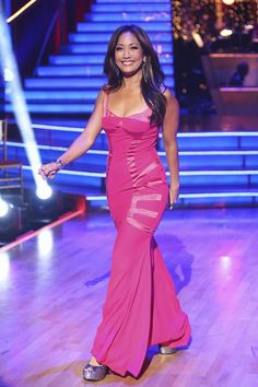 Dancing with the Stars: All-Stars Week 3 Judge Carrie Ann Inaba.
