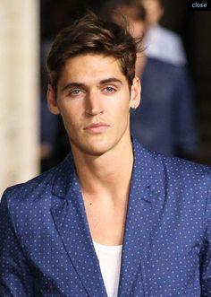 hair from SPRING 2014 MENSWEAR Hermès