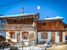Chalet for sale in LE BIOT - Haute Savoie - 2 bedroom Alpine farmhouse for sale nr Morzine with sun-baked landscaped garden, panoramic mountain views France REF: 71687NJW74   [12690]