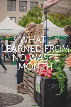 How to Live a No Waste Life For a Month | Green Living Tips