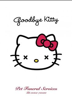 Goodbye Kitty - pet funeral services
