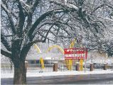 The Old Des Plaines McDonald's in March 2002 :: My Des Plaines Memory