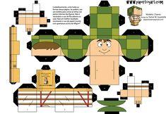 Image detail for -Desenhos para colorir em Geral: Paper Toy Chaves