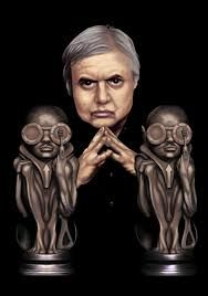Hans Rudolf Giger. Feb 5th 1940-May 12th 2014. The Face Behind Ridley Scotts 'Alien' Saga Set Design & Creature Design.