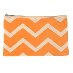 Chevron Juco Cosmetic Bag www.theroyalstandardretail.com