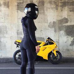 ... A Ducati