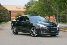 "Chevy Malibu LTZ Turbo with Lexani 20"" R-Three Wheels"