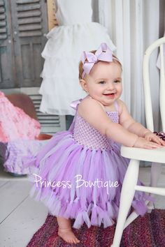 Your sweet little princess will love our simple lavender baby tutu dress. Description from princessbowtique.com. I searched for this on bing.com/images