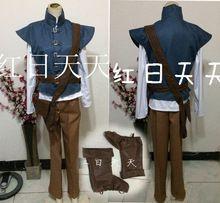 Flynn Ryder - http://es.aliexpress.com/store/product/Free-shipping-prince-Flynn-Ryder-costume-Rapunzel-Tangled-costume-men-cosplay-fantasy-halloween-costumes-for-women/936415_32300285627.html?spm=2114.04010208.3.45.MmJ0Z5&ws_ab_test=searchweb201556_1,searchweb201644_3_505_506_503_504_502_10001_10002_10017_10010_10005_10011_10006_10003_10004_10013_10009_10008,searchweb201560_2,searchweb1451318400_-1,searchweb1451318411_6452&btsid=7adb9da0-9e65-4cf9-a1e4-8fe03144a74a