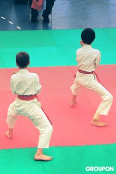 Use Groupon to sign your kids up for local martial arts classes—and then send them to school barefoot.