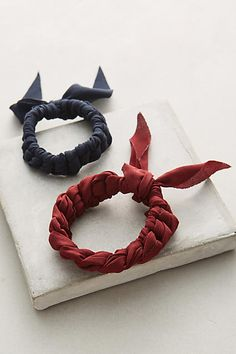 Plaited Hair Tie Set - anthropologie.com