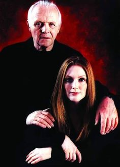 Dr Lecter and Special Agent Starling (Anthony Hopkins and Julianne Moore) Hannibal (2001)