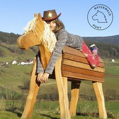 Neu Holzpferd Bayerwald-Pony TUEV GS CE Groß Holzpony für | Etsy Art For Kids, Crafts For Kids, Craft Projects, Projects To Try, Wtf Funny, Crazy Funny, Saddle Rack, Play Yard, Hobby Horse