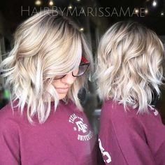 12. Short Blonde Hairstyle