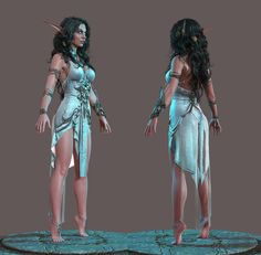 Tyrande and Ash'alah 3D Art by George Panfilov GEORGE PANFILOV is a Character 3d Artist from Moscow,