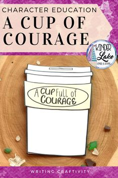 Need a character education activity about courage? This writing craftivity makes a great bulletin board display. Use it for character education, growth mindset, or state testing lessons.