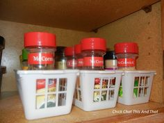 Spice Organization - AWESOME! i am totally doing this