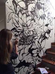 Dalia Katz dibujos y pinturas