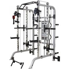 NEW Monster Fitness Functional Trainer-Smith Machine-Power Rack in Sporting Goods, Fitness, Running & Yoga, Strength Training Commercial Gym Equipment, Home Gym Equipment, No Equipment Workout, Fitness Equipment, Sports Equipment, Strength Workout, Strength Training, Elite Fitness, Fitness Plan