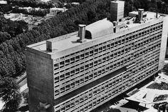 La Cité radieuse de Le Corbusier (1950, Firminy), DR