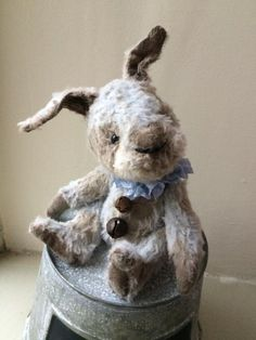 A Little Burlesque Bunny by Drakestone Attic Bears Hook Punch, Doll Toys, Burlesque, Pattern Fashion, Attic, Primitive, Folk, Bunny, Bears