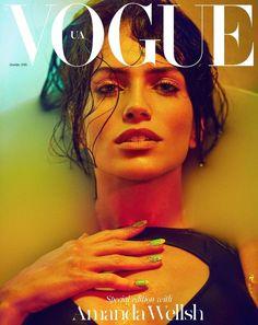 AMANDA WELLSH Vogue Magazine Covers, Vogue Covers, Mcqueen, Make Up, Prada, 5d8f3c01a9