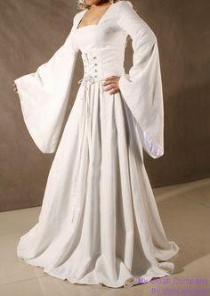 Renaissance style dress.